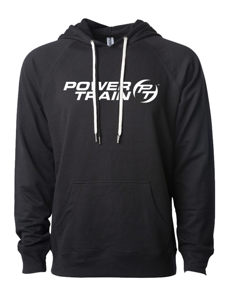 Picture of Black Terry hooded pullover