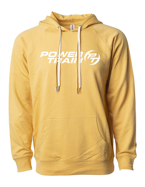 Picture of Harvest Gold Terry hooded pullover